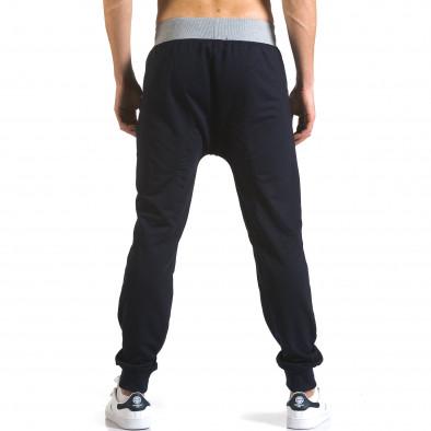Pantaloni baggy bărbați Realman albaștri it110316-9 3