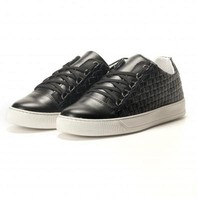 Teniși bărbați Shoes in Progress negri it100317-19 2