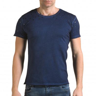 Tricou bărbați Lagos albastru il120216-4 2