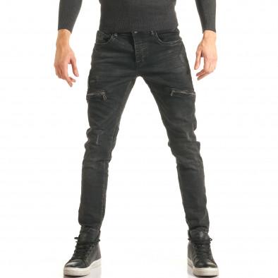 Blugi bărbați Always Jeans negri it181116-61 2