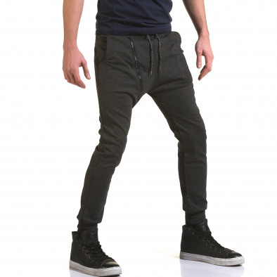 Pantaloni baggy bărbați Jack Berry gri it090216-50 4