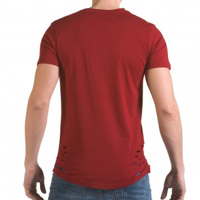 Tricou bărbați SAW roșu il170216-61 3