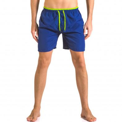Costume de baie bărbați Yaliishi albastru ca050416-26 2