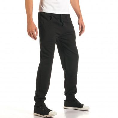 Pantaloni bărbați RHUM22 negru it191016-33 4