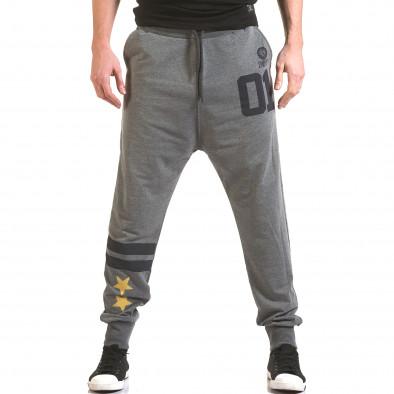 Pantaloni bărbați Franklin gri il170216-137 2