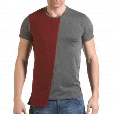 Tricou bărbați SAW gri il170216-62 2