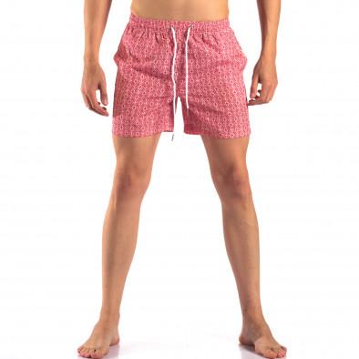 Costume de baie bărbați Bread & Buttons roșu it150616-17 2