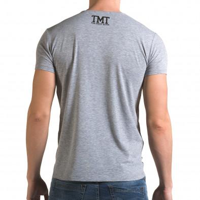 Tricou bărbați Glamsky gri il120216-62 3