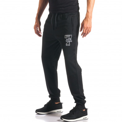 Pantaloni bărbați Top Star negru it160816-30 4