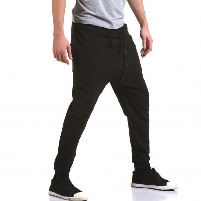 Pantaloni baggy bărbați G.Victory negri it090216-63 4