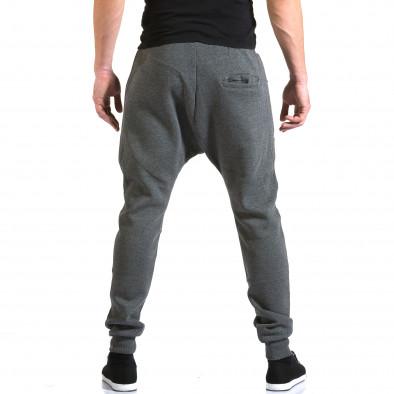 Pantaloni baggy bărbați New Star gri it211015-55 3