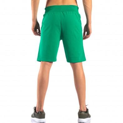Pantaloni scurți bărbați Social Network verzi it160616-5 3