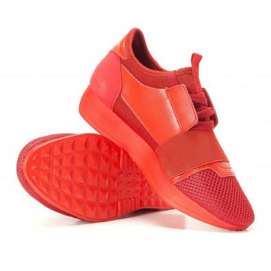 Pantofi sport de dama Anesia roșii it200917-51 4