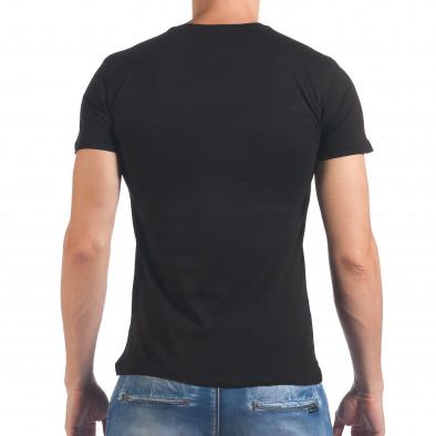 Tricou bărbați SAW negru il060616-25 3