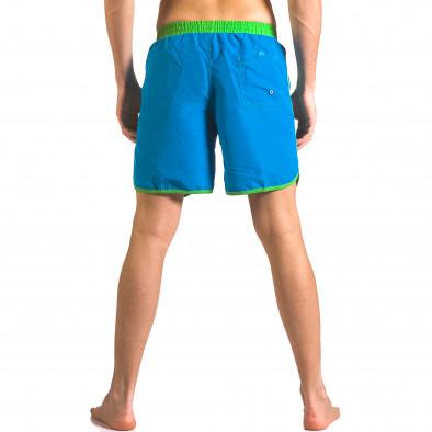 Costume de baie bărbați Yaliishi albastru ca050416-28 3