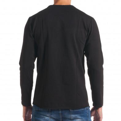 Bluză bărbați FM neagră it180816-7 3