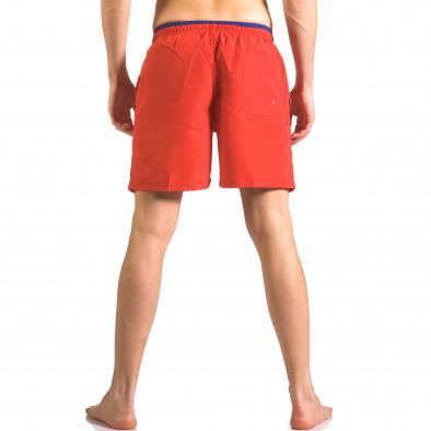 Costume de baie bărbați Yaliishi roșu ca050416-27 3