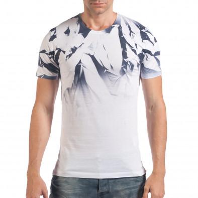 Tricou bărbați SAW alb il060616-36 2