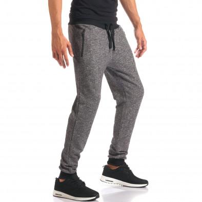 Pantaloni bărbați New Mentality gri it160816-27 4