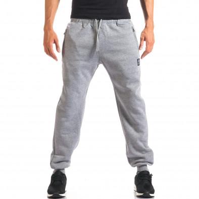 Pantaloni sport bărbați Marshall gri it160816-9 2