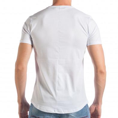 Tricou bărbați SAW alb tsf290318-55 3