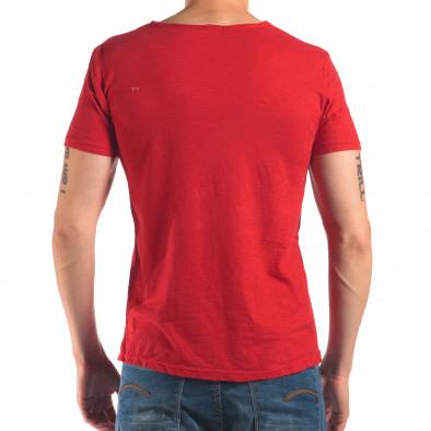 Tricou bărbați FM roșu it150616-30 3