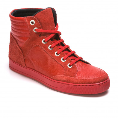Pantofi sport bărbați Martin Pescatore roșii It050216-4 3