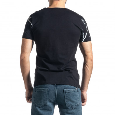 Tricou bărbați Lagos negru tr010221-4 3