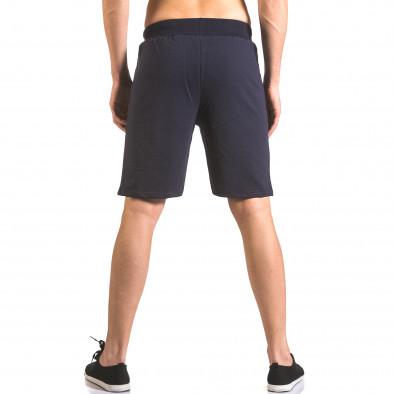 Pantaloni scurți bărbați Me & You albaștri ca050416-43 3