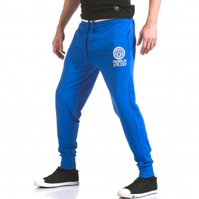 Pantaloni bărbați Franklin albastru il170216-131 4