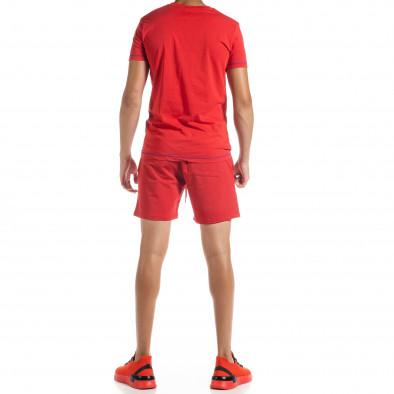 Set sportiv roșu pentru bărbați Compass tr010720-4 3