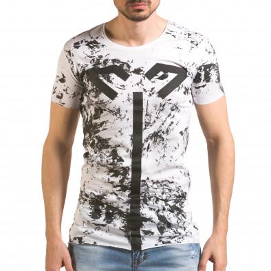 Tricou bărbați 2Y Premium alb tsf060416-1 2