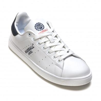 Pantofi sport bărbați Marshall albi it110316-100 3