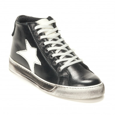 Teniși bărbați Shoes in Progress negri it141016-4 3