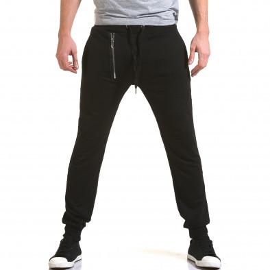 Pantaloni baggy bărbați Belmode negri it090216-44 2