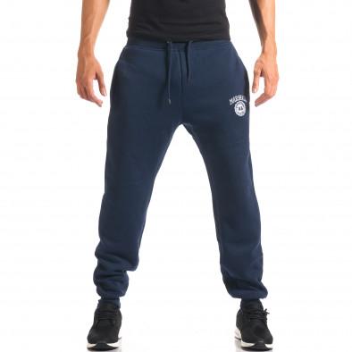Pantaloni bărbați Marshall albastru it160816-6 2