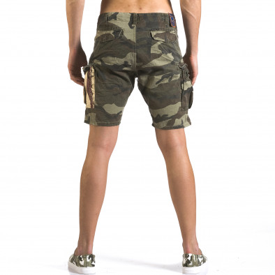 Pantaloni scurți bărbați Bread & Buttons camuflaj it110316-56 3