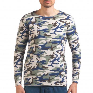Bluză bărbați Wilfed camuflaj it250416-73 2