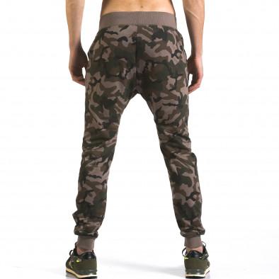 Pantaloni baggy bărbați Dress&GO camuflaj it110316-6 3