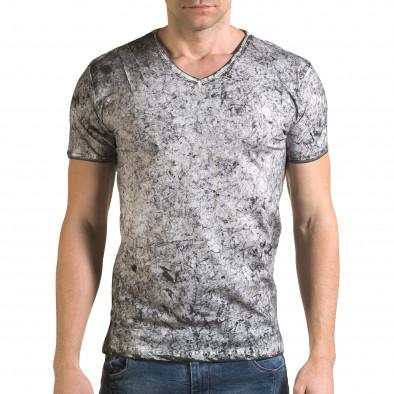 Tricou bărbați Lagos gri il120216-17 2