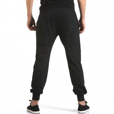 Pantaloni bărbați Marshall negru it110316-17 3