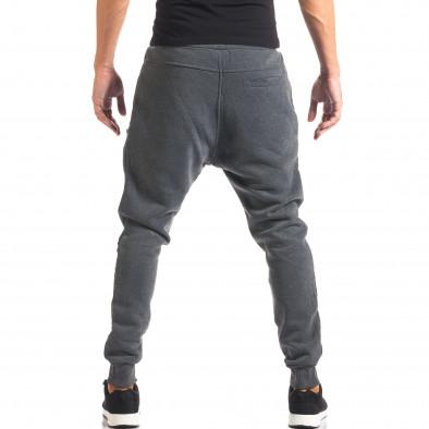 Pantaloni baggy bărbați Top Star gri it160816-2 3