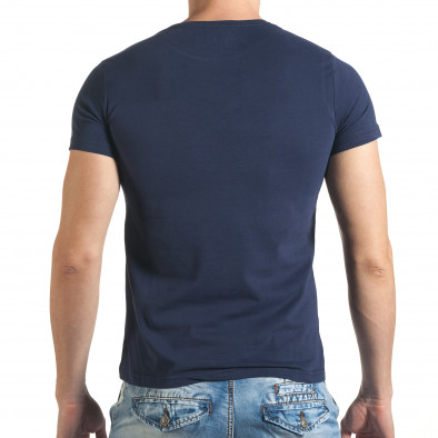 Tricou bărbați Just Relax albastru il140416-33 3