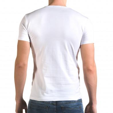 Tricou bărbați Lagos alb il120216-13 3