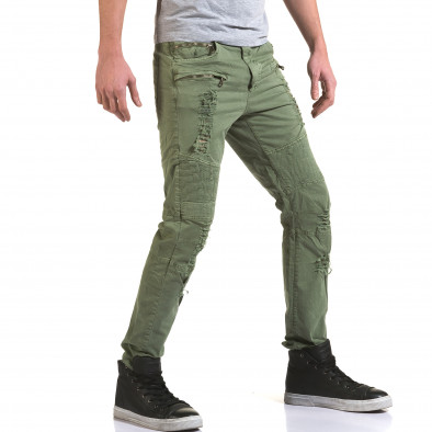 Pantaloni bărbați Maximal verzi it090216-7 4