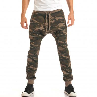 Pantaloni baggy bărbați Furia Rossa camuflaj it191016-19 2