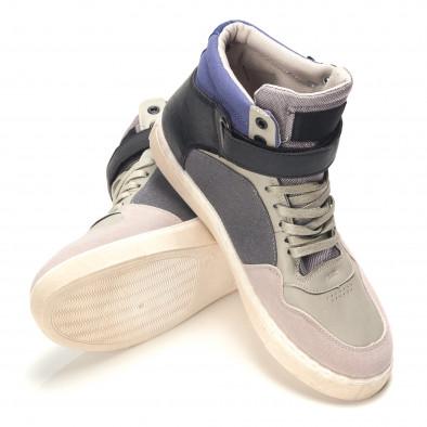 Pantofi sport bărbați Reeca gri it100915-17 4
