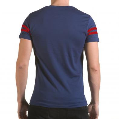 Tricou bărbați Franklin albastru il170216-20 3