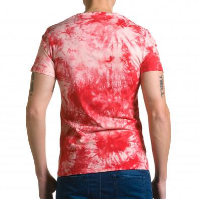 Tricou bărbați P2P roșu ca190116-44 3
