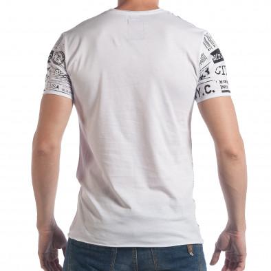 Tricou bărbați Breezy alb tsf090617-22 3